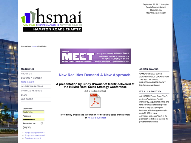HSMAI - Hampton Roads