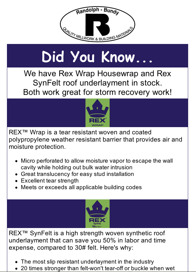 RexWrap Marketing Piece